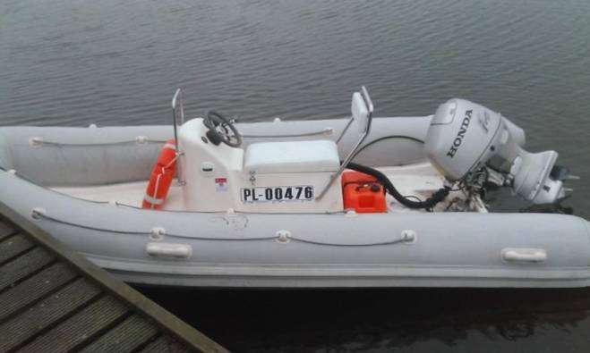Coach Boat available for rent at Sopot