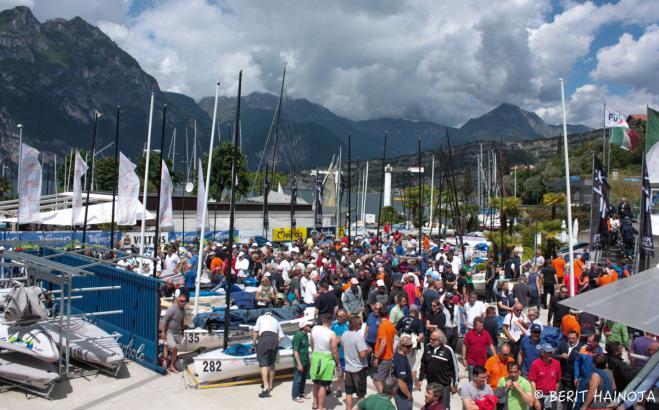 Largest Finn event in history opens in Fantastica Torbole